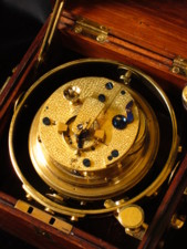2 day rosewood ships chronometer by Charles Frodsham