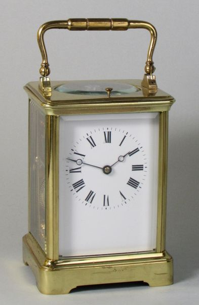 Carriage Clock with Rare Winding