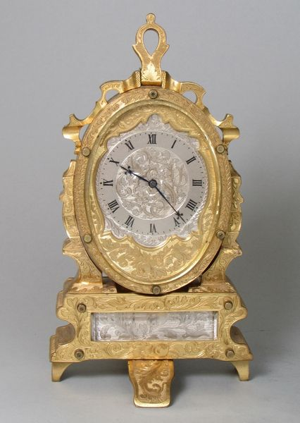 19th Century 8 Day Travelling Clock
