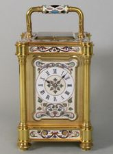Highly Individual French Carriage Clock