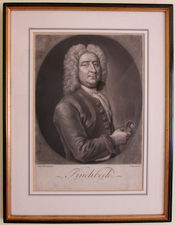 Christopher PINCHBECK a Framed Engraving