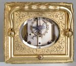 Engraved and Gilded Gorge Cased Carriage Clock  (Paris)